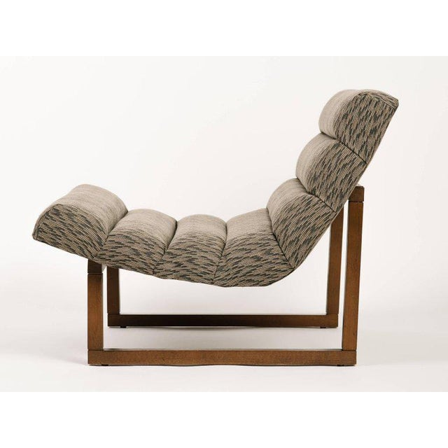 Milo Baughman Pair of Mid Century Modern Scoop Lounge Chairs by Milo Baughman For Sale - Image 4 of 12