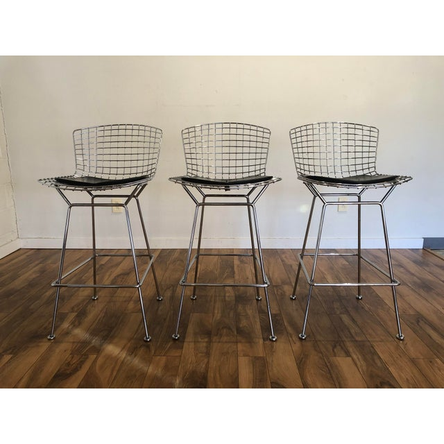 Magnificent Bertoia Bar Stools Ocoug Best Dining Table And Chair Ideas Images Ocougorg