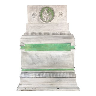 20th Century Neoclassical Gesso Polychrome Conservatory Planter For Sale