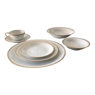 Fine China 5182 by Noritake - 7 Piece Set For Sale