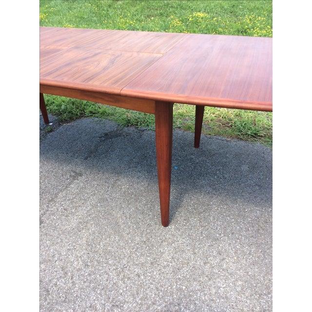 Refurbished Falster Teak Dining Table - Image 5 of 11