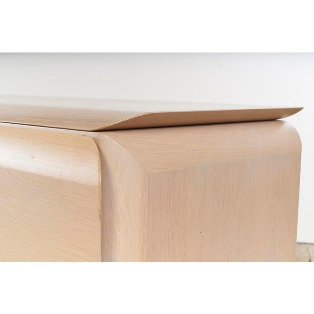 Late 20th Century Ello Cerused Oak Cabinet For Sale - Image 5 of 9