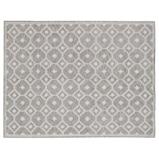 Stark Studio Rugs Contemporary 100% Linen Soumak Rug - 10′ × 13′9″ For Sale