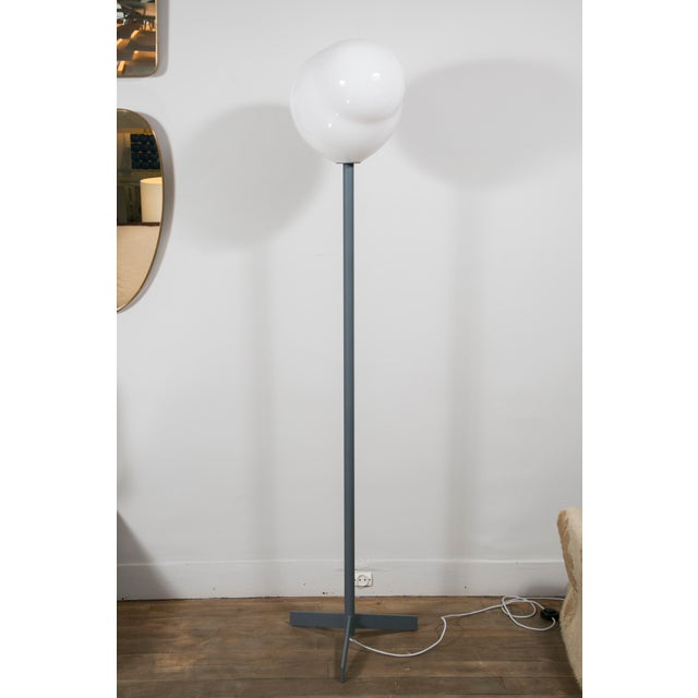 "The ""Nubes"" floor lamps and table lamp are edited by Galerie Blanchetti in Paris. Designer : Philippe Daney Glassmaker :..."