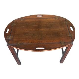 19th Century Mahogany Butlers Tray