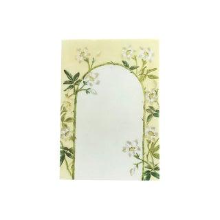 Floral Archway Porcelain Menu For Sale