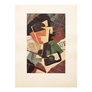 "1947 Juan Gris, Original Parisian ""Still Life"" Lithograph For Sale"