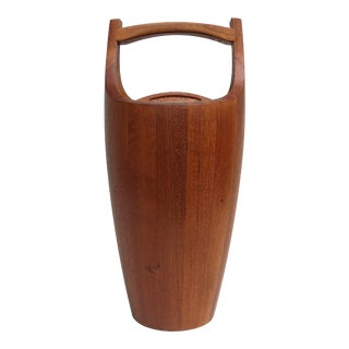 Dansk Danish Modern Teak Ice Bucket For Sale