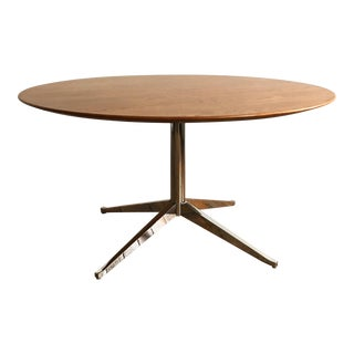 "Florence Knoll 54"" Oak Top Table"