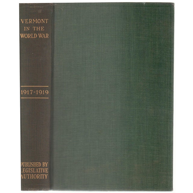 """1928 """"Vermont in the World War 1917-1919"""" Collectible Book For Sale In Atlanta - Image 6 of 6"""