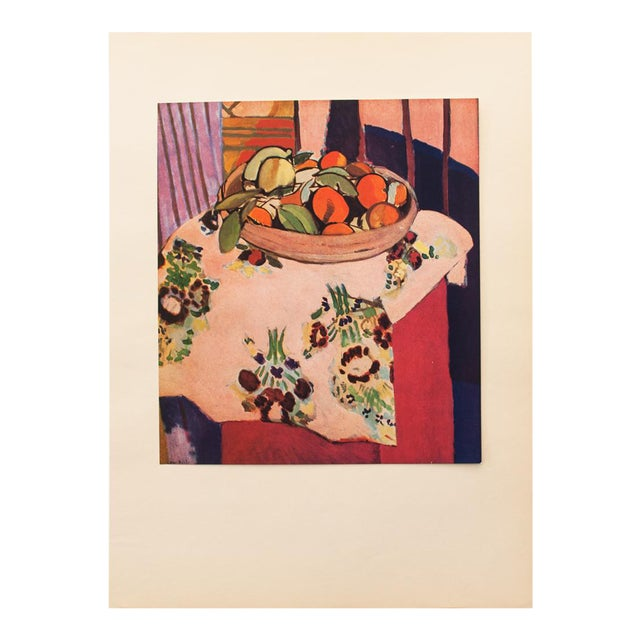"1940s Henri Matisse, ""Oranges"" Original Period Swiss Lithograph For Sale"