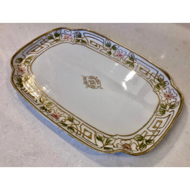 Morimura Nippon Moriage Dressing Table Tray For Sale - Image 4 of 11