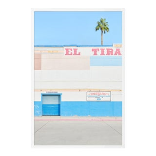 El Paso Blue by HULETT, Contemporary Photograph in White, Small For Sale
