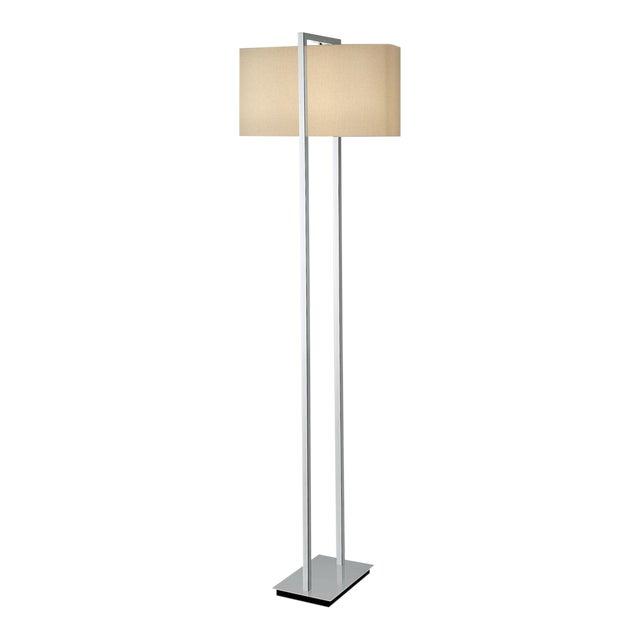 Polished Chrome Arrive Floor Lamp For Sale