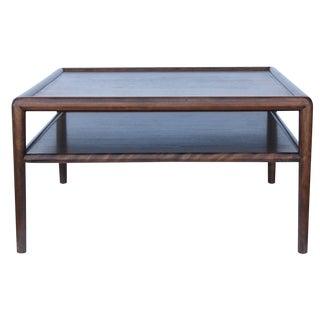 Robsjohn Gibbings Vintage Walnut Side Table For Sale