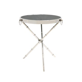 Transitional Pasargad Home Vicenza Collection Side Table For Sale