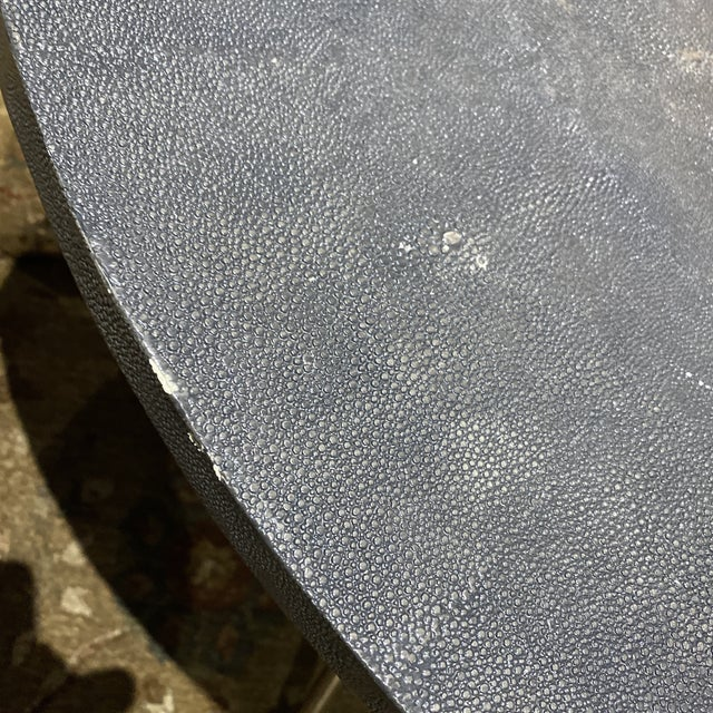 2010s Century Furniture Grand Tour Shagreen Style Cocktail Table For Sale - Image 5 of 13