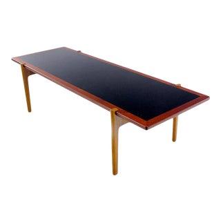 Danish Modern Teak & Oak Reversible Coffee Table Designed by Hans Wegner For Sale