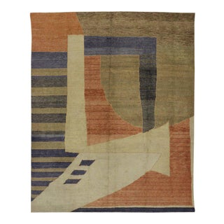 Modern Turkish Rug with Abstract Contemporary Style