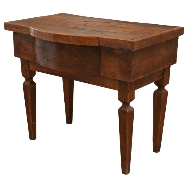 French Walnut Vanity Table For Sale