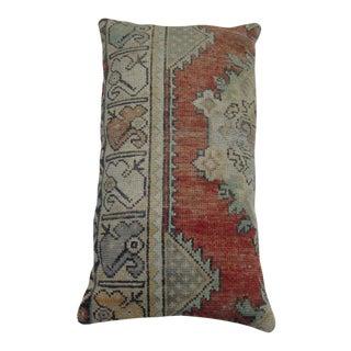 Large Anatolian Turkish Rug Pillow For Sale