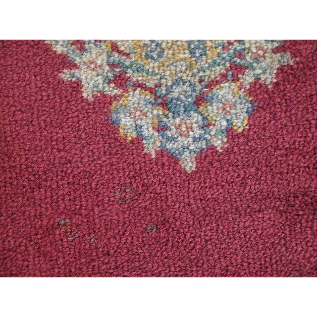 1980s Karastan Red Kirman Area Rug - 4′4″ × 6′9″ For Sale - Image 11 of 13