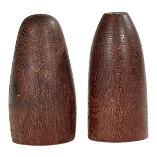 1960s Danish Teak Salt & Pepper Shakers