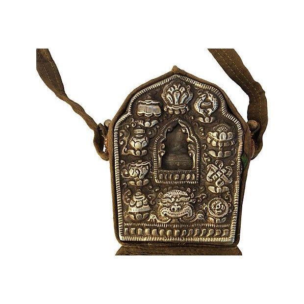 Tibetan Buddhist Traveling Prayer Bag Chairish