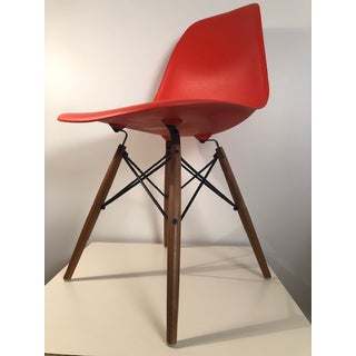 Eames Molded Plastic Side Chairs - A Pair Preview