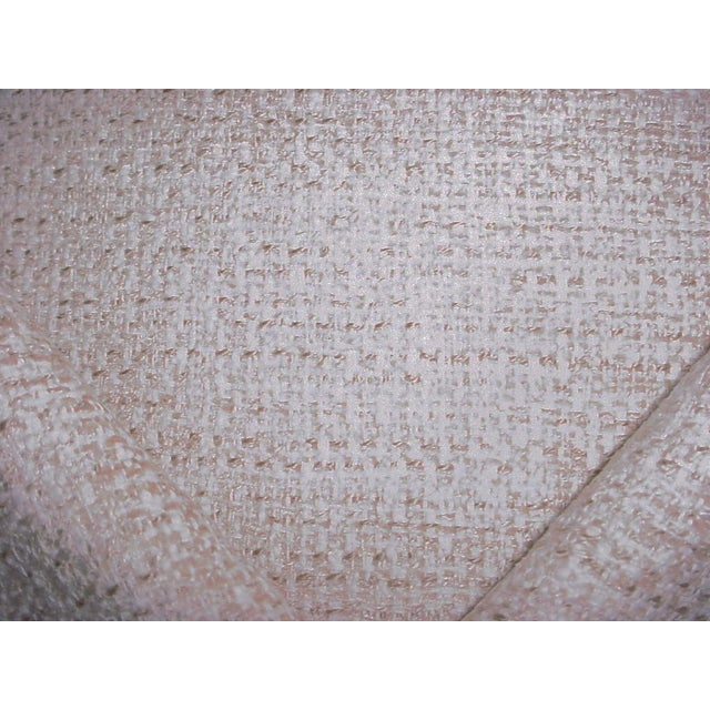 Osborne & Little Osborne Little Vence Ivory Textured Chenille Upholstery Fabric- 3-1/2 Yards For Sale - Image 4 of 6