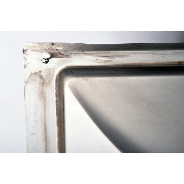Vintage Aluminum Wall Panels- Set of 9 For Sale - Image 10 of 10