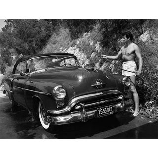 """""""Rock Hudson at Home"""" 1952 Photograph by Sid Avery (11x14 Print) For Sale"""