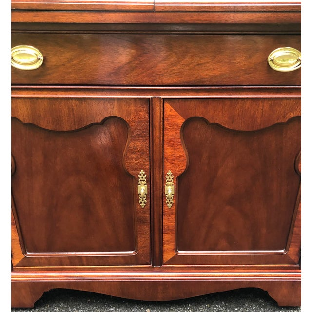 Thomasville Thomasville Mahogany Collection Flip Top Server For Sale - Image 4 of 13