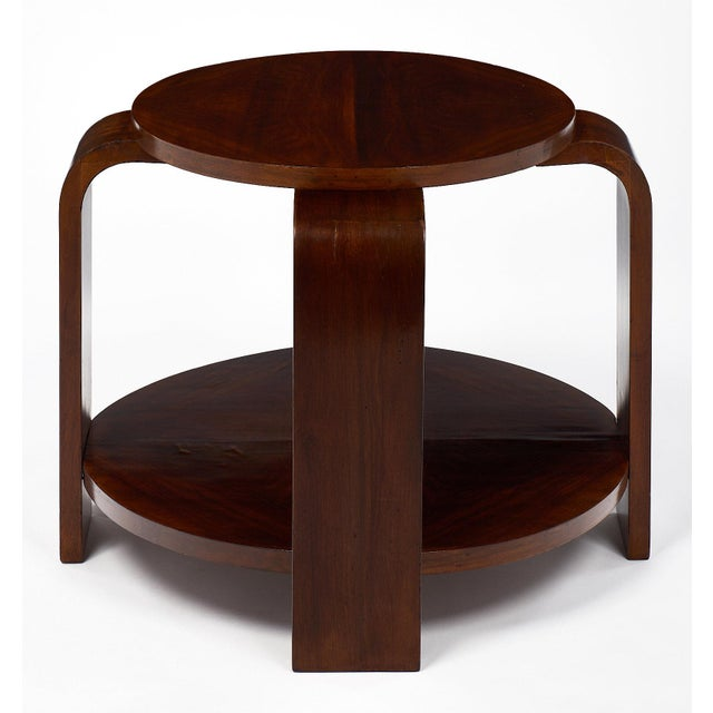 Art Deco Art Deco Period Walnut Gueridon For Sale - Image 3 of 11