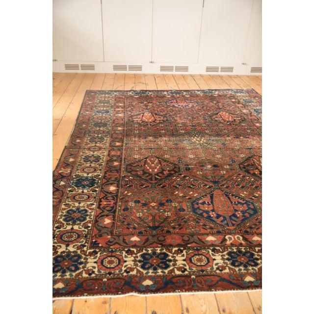 """Vintage Baktiari Carpet - 7'1"""" X 9'11"""" For Sale - Image 9 of 12"""
