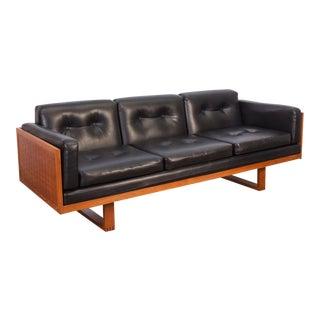 Poul Cadovius Woven Black Sofa