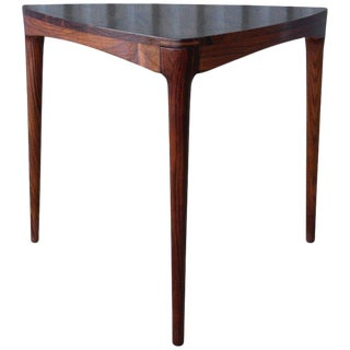 Danish Rosewood Table, 1960s For Sale