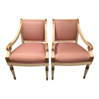 J Robert Scott Side Chairs - a Pair For Sale