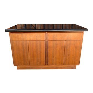 1970's Vintage Mid Century Cabinet For Sale