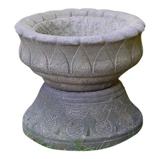 Lotus Garden Vessel For Sale