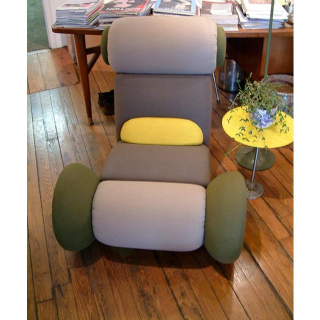 Contemporary 1983 Italian Astoria Chair by Matteo Thun for Memphis For Sale - Image 3 of 9