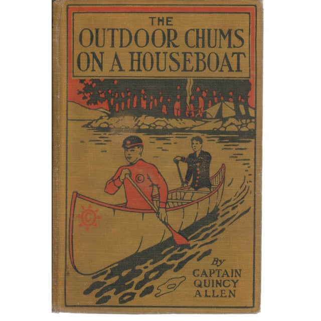 'Outdoor Chums on a Houseboat' Book, 1913 - Image 1 of 2