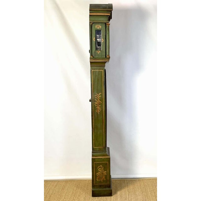 George III Chinoiserie Decorated Long Case Clock For Sale In Richmond - Image 6 of 13