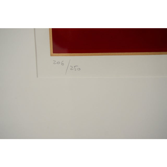 """Art Deco Revival """"Grand Tier"""" Lithograph by Giancarlo Impiglia For Sale In West Palm - Image 6 of 7"""
