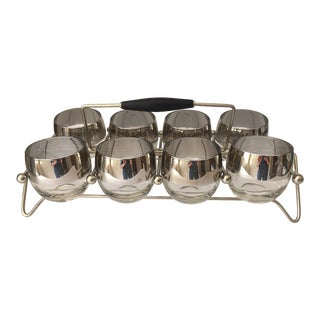 Dorothy Thorpe Roly Poly Glassware - Set of 8