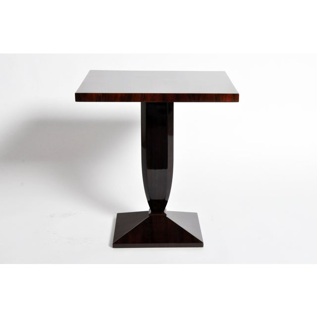 Art Deco Art Deco Style Square Side Table For Sale - Image 3 of 11