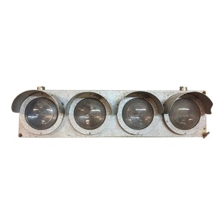 Industrials French Factory Wall Light Fixture