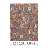 """Image of Jasper Johns Numbers in Color 39.5"""" X 27.5"""" Poster 1976 Pop Art Multicolor For Sale"""