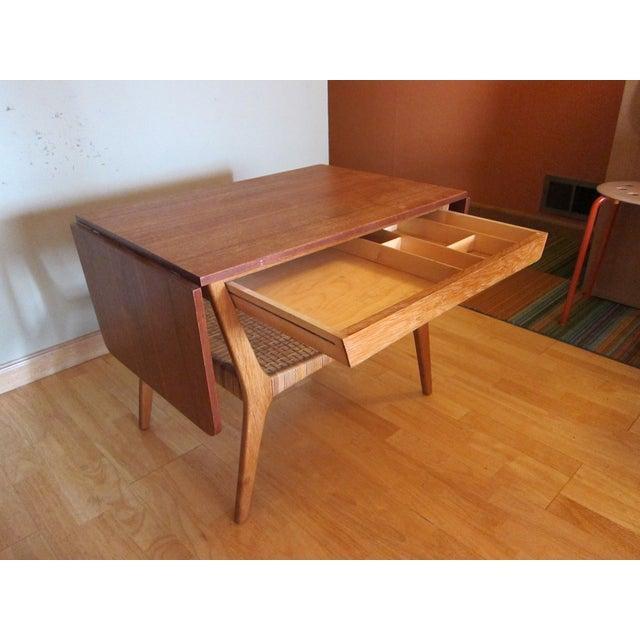 Vintage Mid-Century Danish Teak Cocktail Table For Sale - Image 4 of 6