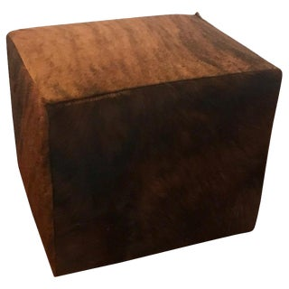 Cow Hide Bench or Ottoman For Sale